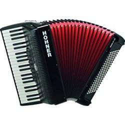 HOHNER BR120B-N Bravo III Piano Black Accordion 120 Bass 41 Key 3 Reed