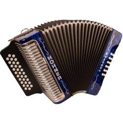 Hohner CORIIIABL Corona III ADG Accordion Dark Blue