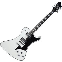 Hagstrom FANT WHT - White Ghost Signature 6 String Electric Guitar