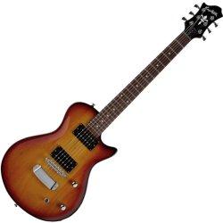 Hagstrom ULSWE-ESN-TSB Ultra Swede ESN 6 String Electric Guitar – Tobacco Sunburst