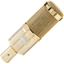 Heil Sound PR 40G Dynamic Microphone with 1.5 Inch Diaphragm in Gold