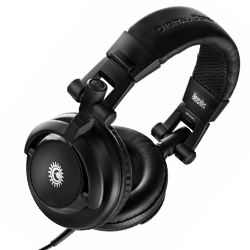 Hercules Audio HDP DJ M 40.1 Isolation Folding DJ Headphones with One Ear Monitoring Capabilities