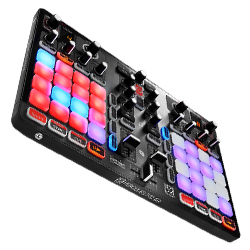 Hercules Audio P32dj All In One Dj Controller With 2 Grids Of 16
