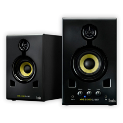 Hercules Audio XPS 2.0 60 DJ Set Active Multi-Media Monitor Speakers for DJing or Home Studio