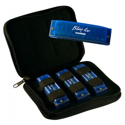 Hohner BIP Blue Ice Harmonica Set (discontinued clearance)