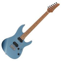 Ibanez AZ2402-ICM AZ Guitar with Roasted Maple Neck in Ice Blue Metallic