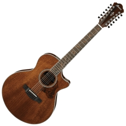 Ibanez AE2412-NT AE Series 12 String RH Acoustic Electric Guitar-Natural High Gloss