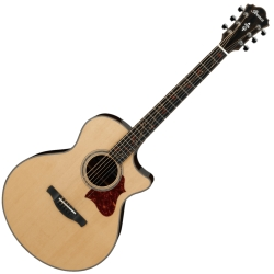 Ibanez AE255BT-NT AE Series 6 String RH Baritone Acoustic Electric Guitar-Natural High Gloss