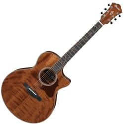 Ibanez AE315FMH-OPS AE Series 6 String RH Cutaway Acoustic Electric Guitar-Open Pore Semi Gloss