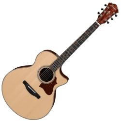 Ibanez AE315K-NT AE Series 6 String RH Cutaway Acoustic Electric Guitar-Natural High Gloss