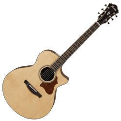 Ibanez AE519-NT AE Series 6 String RH Acoustic Electric Guitar with Case-Natural High Gloss