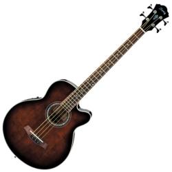Ibanez AEB10E-DVS AEB Series 4 String RH Acoustic Electric Bass-Dark Violin Sunburst High Gloss