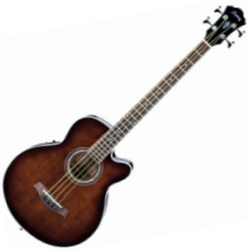 Ibanez AEB10E-DVS-d 4-String RH Acoustic-Electric Bass Guitar-Dark Violin Sunburst (discontinued clearance)  (Prior Year Model)