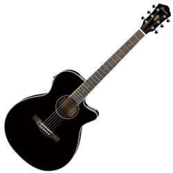 Ibanez AEG8E-BK AEG Series 6 String RH Acoustic Electric Guitar-Black