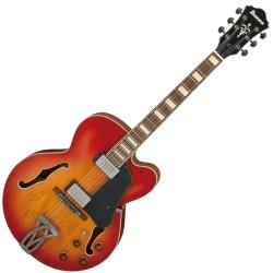 Ibanez AFV75-VAL Artcore Vintage 6 String RH Hollowbody Electric Guitar-Vintage Amber Burst Low Gloss