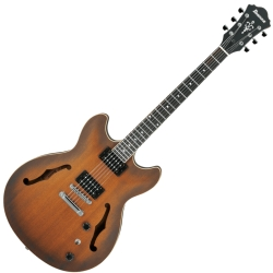 Ibanez AS53-TF Artcore 6 String RH Semi-Hollowbody Electric Guitar-Tobacco Flat