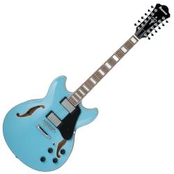 Ibanez AS7312-MTB Artcore Vibrante 12 String RH Semi-Hollowbody Electric Guitar-Mint Blue
