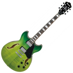 Ibanez AS73FM-GVG Artcore Series 6 String RH Semi-Hollowbody Electric Guitar-Green Valley Gradiation