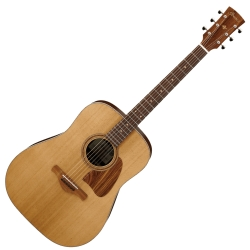 Ibanez AVD15PFR-OPS Artwood Vintage Thermo Dreadnought 6 String RH Acoustic Guitar-Open Pore Semi Gloss