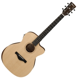 Ibanez AW150CE-OPN Artwood Grand Concert 6 String RH Acoustic Electric Guitar-Open Pore Semi Gloss