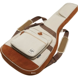 Ibanez IAB541BE Powerpad Designer Collection Gig Bag for Acoustic Guitar-Beige