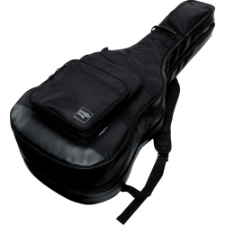 Ibanez IGAB2540BK Black Powerpad Double Gig Bag for Two Guitars-Fits One Acoustic and One Electric Guitar