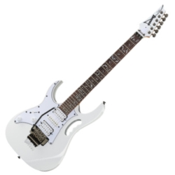 Ibanez JEMJRL-WH Steve Vai Signature Series Junior Jem 6 String LH Electric Guitar-White