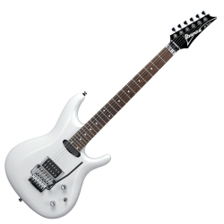 Ibanez JS140-WH Satriani Signature 6 String RH Electric Guitar-White