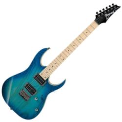 Ibanez RG421AHM-BMT RG Series 6-String RH Electric Guitar-Blue Moon Burst