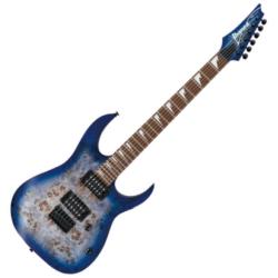 Ibanez RGRT621DPB-BLF RG Series 6-String RH Electric Guitar-Blue Lagoon Burst Flat