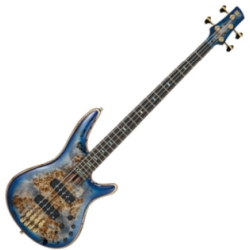 Ibanez SR2600-CBB Soundgear Premium 4-String RH Electric Bass-Cerulean Blue Burst