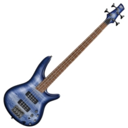 Ibanez SR300E-NPM-d Soundgear 4-String RH Electric Bass-Navy Planet Matte (discontinued clearance limited edition)