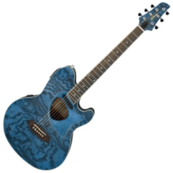 Ibanez TCM50-DNO Talman Series 6-String RH Acoustic/Electric Guitar-Dark Night Ocean (discontinued clearance)