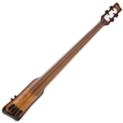 Ibanez UB804-MOB Workshop Series Upright Electric Double Bass-Mahogany Oil Burst