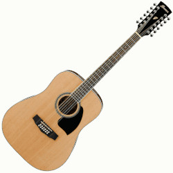 Ibanez PF1512NT Performance Series Dreadnought Body 12-String Acoustic Guitar - Natural
