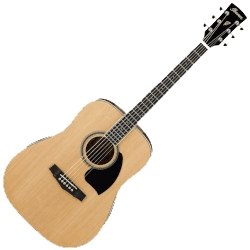 Ibanez PF15-NT PF Performance Series 6 String RH Acoustic Guitar - Natural