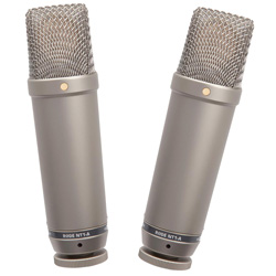 Rode NT1-A-MP Cardioid Condenser Microphone (Matched Pair)