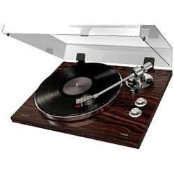 ION Audio Pro500BT Premium Belt Drive Turntable With Bluetooth And USB Deluxe Wood Finish