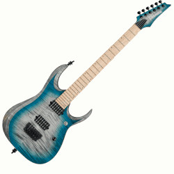 Ibanez RGD61AL-SSB Axion Label 6 String RH Electric Guitar- Stained Sapphire Blue Burst