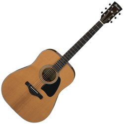 Ibanez AVD60-NT Artwood Vintage Thermo Aged Acoustic 6 String Guitar - Natural High Gloss