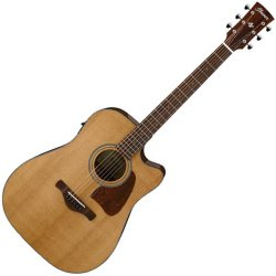 Ibanez AVD9CE-NT Acoustic Electric 6 String Guitar - Natural High Gloss