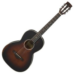Ibanez AVN11 ABS Artwood Vintage Acoustic 6 String Guitar - Antique Brown Sunburst
