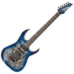 Ibanez RG1070PBZ-CBB RG Premium 6 String RH Electric Guitar with case- Cerulean Blue Burst