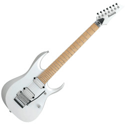 Ibanez RGD3127-PWF Prestige 7 String RH Electric Guitar with Case - Pearl White Flat
