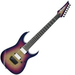 Ibanez RGIX7FDLB-NLB 7 String RH Electric Guitar - Northern Lights Burst