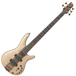 Ibanez SR1305-NTF SR Premium 5 String RH Bass with Nordstrand Pickups – Natural Flat