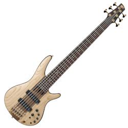 Ibanez SR1306-NTF SR Premium 6 String RH Nordstrand Big Bass w gigbag – Natural Flat