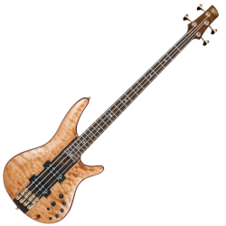 Ibanez SR2400-FNL 4 String RH Bass Guitar w gigbag - Florid Natural Low Gloss