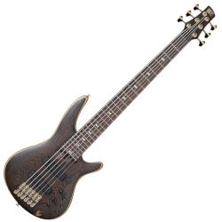 Ibanez SR5006OL Prestige Series 6-String RH Electric Bass w/ case - Oil Finish