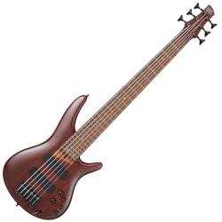 Ibanez SR506E-BM 6 String RH Bass Guitar - Brown Mahogany